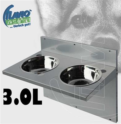 New futternapf napf hundenapf katzennapf ideal f wand ebay for Wand spritzschutz