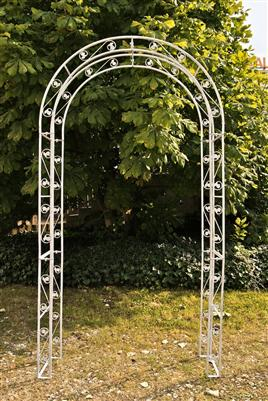 rosenbogen summer weiss pergola rankhilfe neu ebay. Black Bedroom Furniture Sets. Home Design Ideas