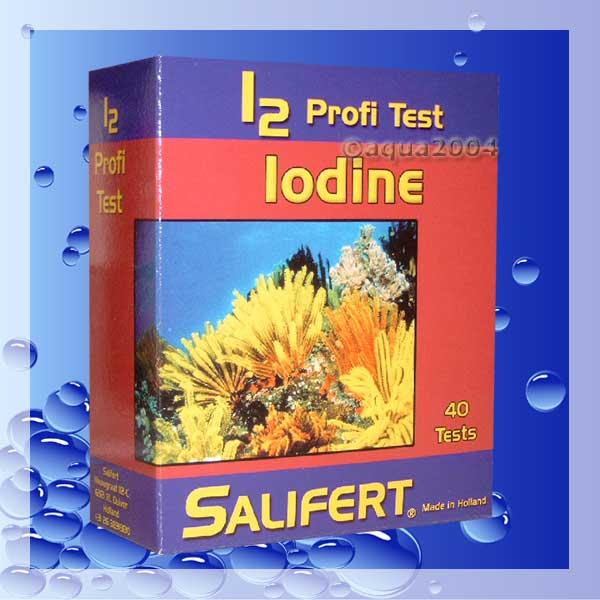 +Salifert Profi Test Jod für Meerwasser