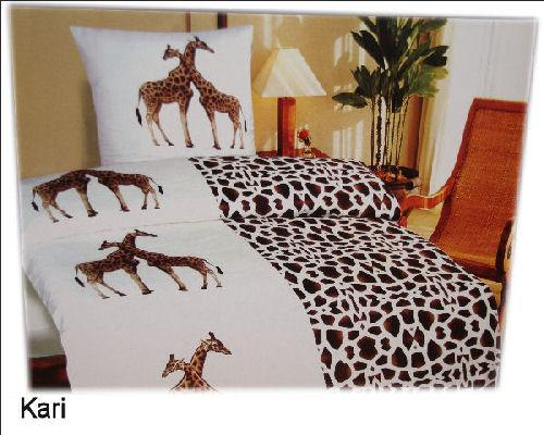 bettw sche set 2 tlg afrika feeling 135x200 microfaser ebay. Black Bedroom Furniture Sets. Home Design Ideas