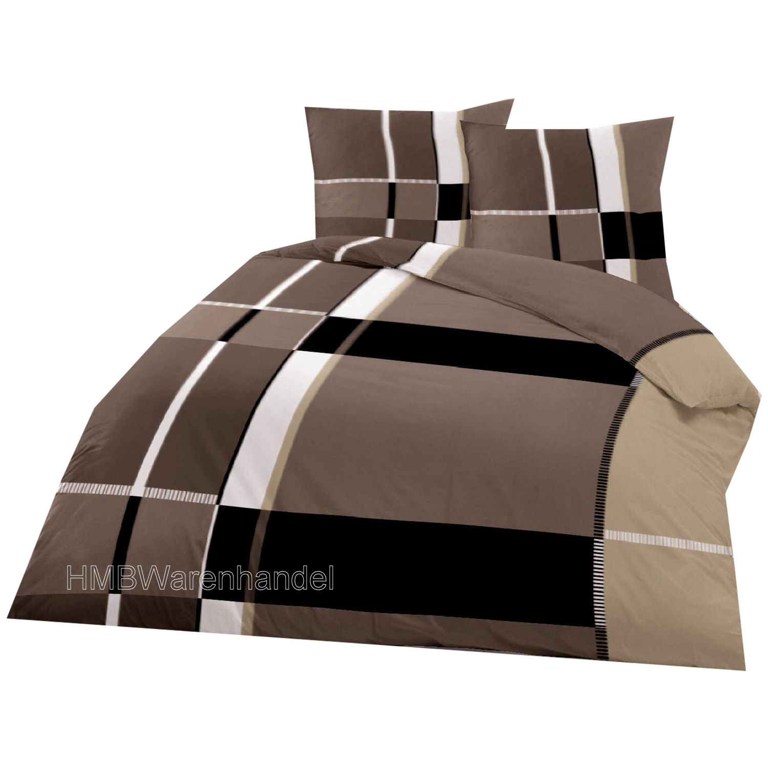microfaser bettw sche set doppelbett 3 tlg 200x200 mehrere muster ebay. Black Bedroom Furniture Sets. Home Design Ideas
