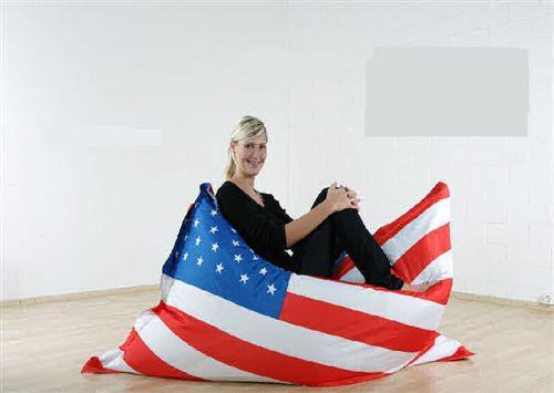 riesen sitzsack flagge xxl sitzkissen 140x180 outdoor geeignet 6 l nder ebay. Black Bedroom Furniture Sets. Home Design Ideas