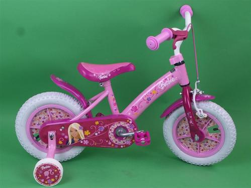 barbie kinderfahrrad mit luftbereifung 12 zoll fahrrad ebay. Black Bedroom Furniture Sets. Home Design Ideas