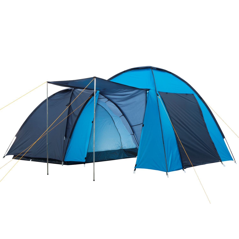 Zelt 4 Personen Stehhöhe : Xxl familienzelt kuppelzelt zelt kabinen m stehhöhe