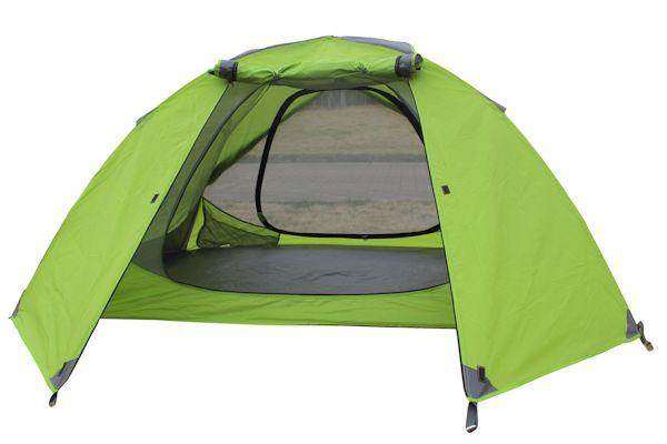 Zelt 2 Personen Wassersäule 5000 : Campfeuer ultraleicht zelt mit aluminiumgestänge mm
