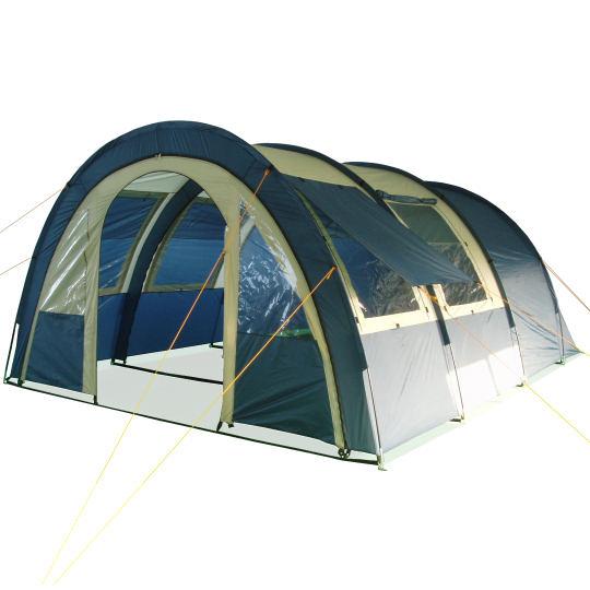 tunnelzelt familienzelt zelt mit 2 kabinen 4p b ware. Black Bedroom Furniture Sets. Home Design Ideas