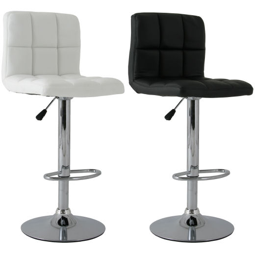 2x barhocker barstuhl gesteppt lounge farbauswahl neu ebay for Barhocker lounge