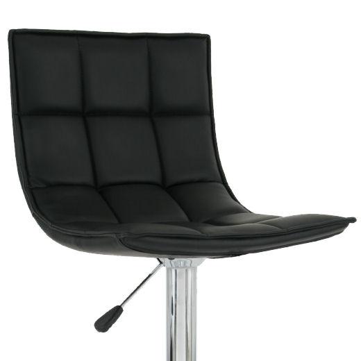 2 x barhocker milano stuhl barstuhl mit lehne schwarz ebay for Barhocker mit lehne schwarz