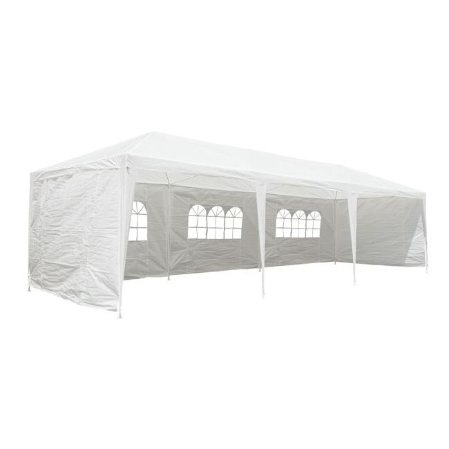 pavillon partyzelt 3x9 m zelt pavillion garten festzelt marke campfeuer ebay. Black Bedroom Furniture Sets. Home Design Ideas