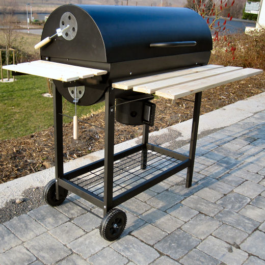 geburtstag geschenke bbq grillwagen mit deckel smoker. Black Bedroom Furniture Sets. Home Design Ideas