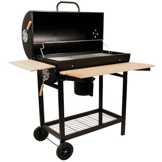 barbecue grill bbq smoker holzkohlegrill grillwagen b11 ebay. Black Bedroom Furniture Sets. Home Design Ideas