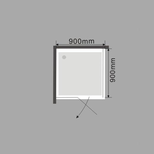 zelsius duschkabine mit acrylwanne oder duschabtrennung. Black Bedroom Furniture Sets. Home Design Ideas