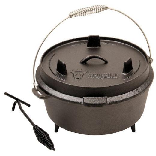BBQ-Bull-Dutch-Oven-Serie-4-Groessen-oder-Set-zur-Auswahl