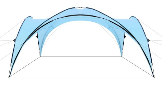 Event Zelt Pavillon : Event pavillon shelter tent  m partyzelt