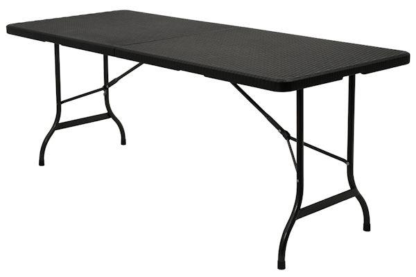 falttisch klapptisch klappstuhl stuhl tisch campingtisch esstisch rattan optik ebay. Black Bedroom Furniture Sets. Home Design Ideas