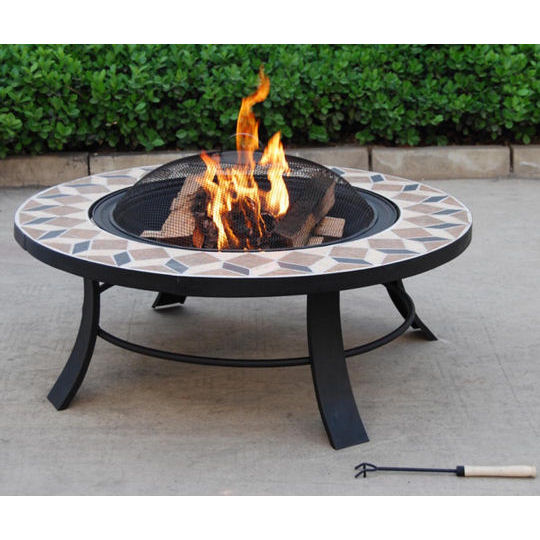 terrassenofen feuerschale feuerstelle grill gartenfeuer ebay. Black Bedroom Furniture Sets. Home Design Ideas