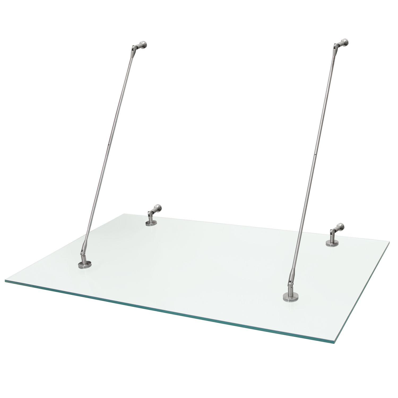 Vordach Terrassentür : Glasvordach Edelstahl Vordach Glas T u00fcrvordach Haust u00fcr