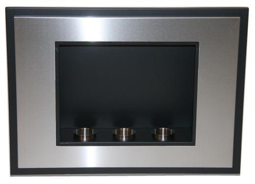 design edelstahl dekokamin bio ethanol gelkamin k che haushalt. Black Bedroom Furniture Sets. Home Design Ideas