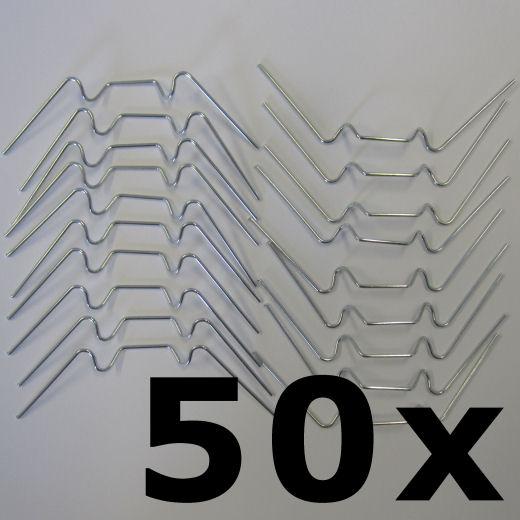 50 Gewachshausklammern Glasklemmen Klammern Fur Gewachshaus Ebay