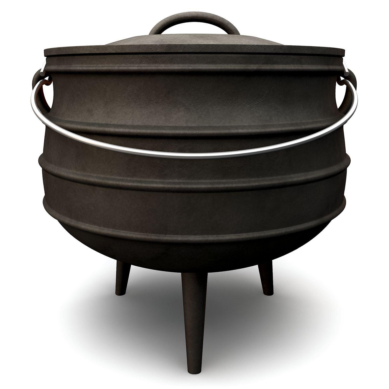 potjie gr 4 12 0 liter dutch oven gusseisen kessel br ter 4 ebay. Black Bedroom Furniture Sets. Home Design Ideas