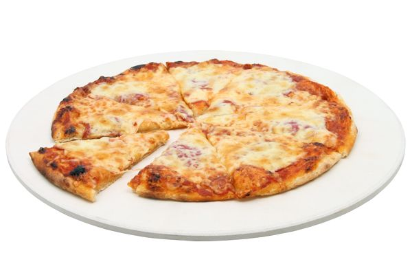 Pizzastein, Brotback Platte für Holzkohlegrill und mehr