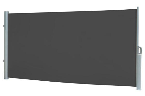 xl seitenmarkise grau h 200 x l 300 cm. Black Bedroom Furniture Sets. Home Design Ideas