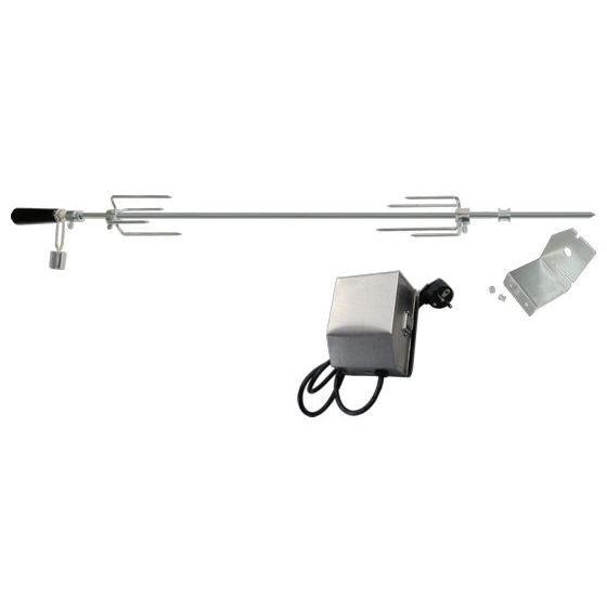grillspie mit edelstahl motor 220 240v rotisserie. Black Bedroom Furniture Sets. Home Design Ideas