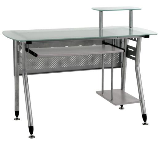 glas computertisch pc tisch schreibtisch. Black Bedroom Furniture Sets. Home Design Ideas