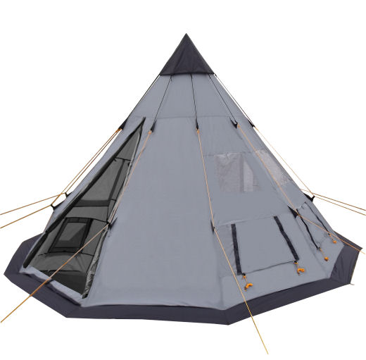 tipi zelt wigwam indianerzelt farbauswahl 360x250cm 3000mm ws ebay. Black Bedroom Furniture Sets. Home Design Ideas