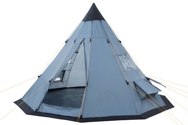 campfeuer tipi zelt teepee indianerzelt grau. Black Bedroom Furniture Sets. Home Design Ideas