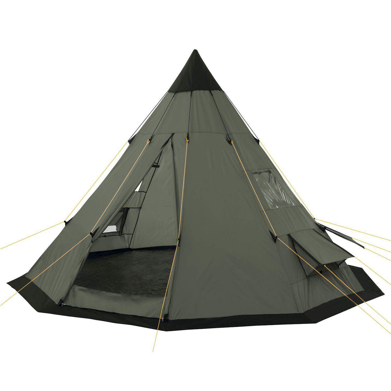 campfeuer tipi zelt wigwam indianerzelt verschiedenen ausf hrungen und farben ebay. Black Bedroom Furniture Sets. Home Design Ideas