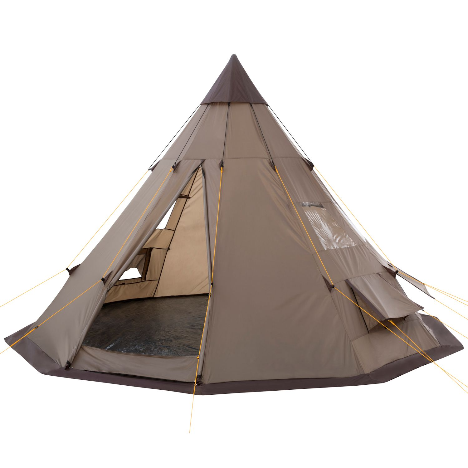 tipi zelt wigwam indianerzelt indianertipi tippi neu ebay. Black Bedroom Furniture Sets. Home Design Ideas