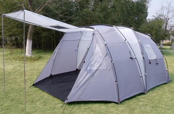 Zelt 4 Personen Stehhöhe : Xl tunnelzelt zelt kabinen stehhöhe mm ws p neu ebay
