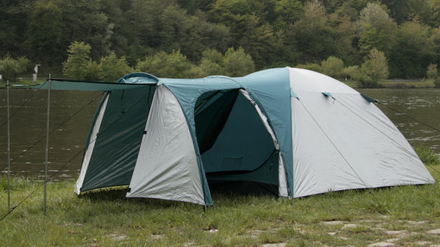 campfeuer kuppelzelt iglu zelt mit vorbau f r 3 4. Black Bedroom Furniture Sets. Home Design Ideas