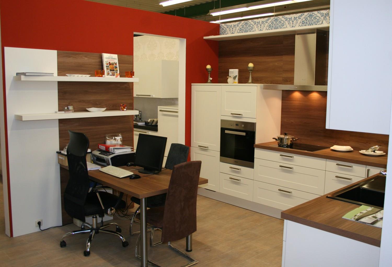 l musterk che landhaus modern in weiss matt 355 cm x 256 cm h cker k chen lotus ebay. Black Bedroom Furniture Sets. Home Design Ideas