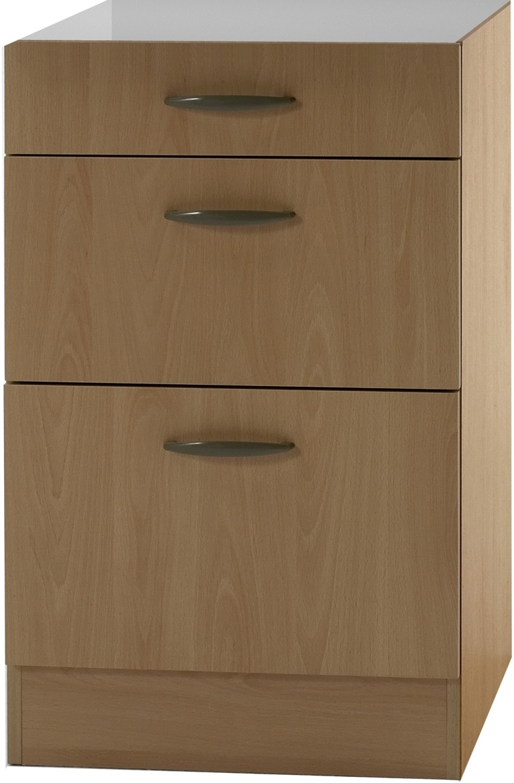 klassik60 unterschrank 50cm breit buche uo536 ebay. Black Bedroom Furniture Sets. Home Design Ideas