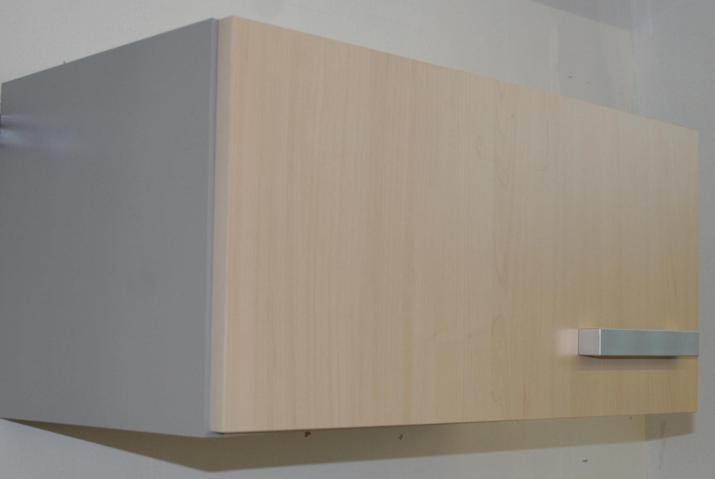 h ngeschrank 60 cm nur 30 cm hoch auch f r unterbauhauben birke alu dekor. Black Bedroom Furniture Sets. Home Design Ideas