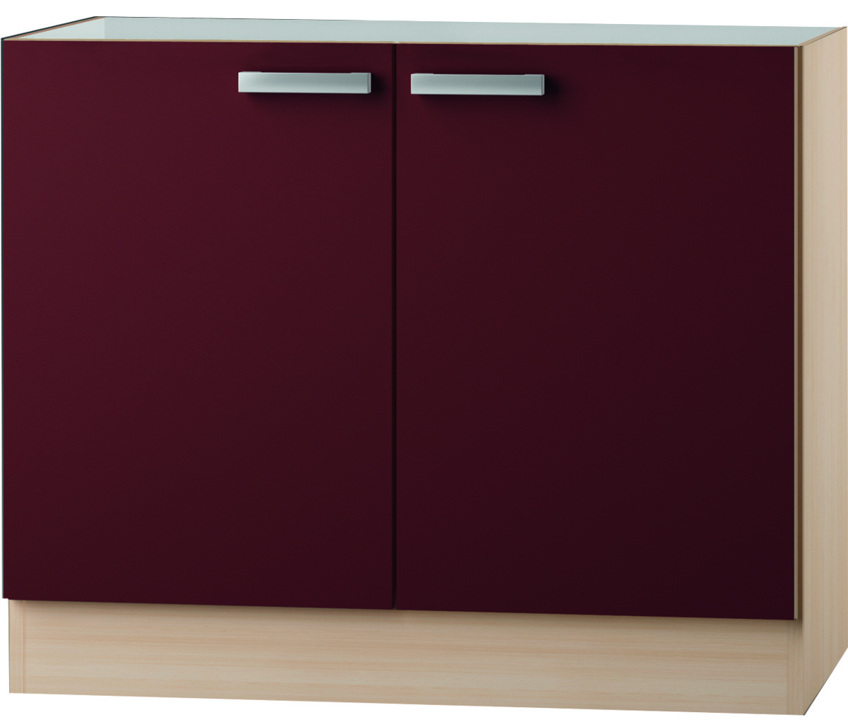 kult bergamo sp lenschrank 100 cm breit bordeaux rot splo106 ebay. Black Bedroom Furniture Sets. Home Design Ideas