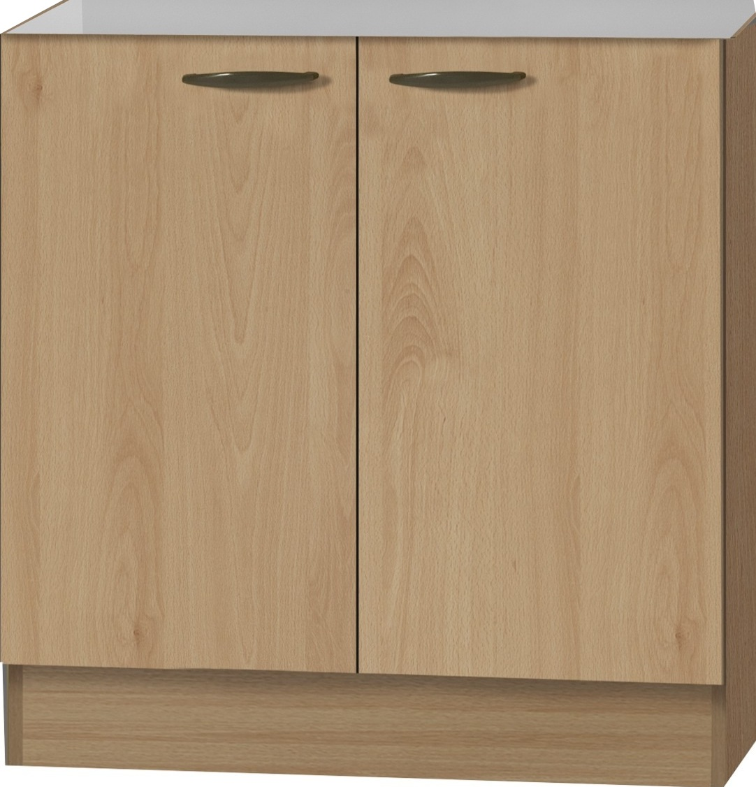 klassik60 sp lenschrank 80 cm breit buche splo806 ebay. Black Bedroom Furniture Sets. Home Design Ideas
