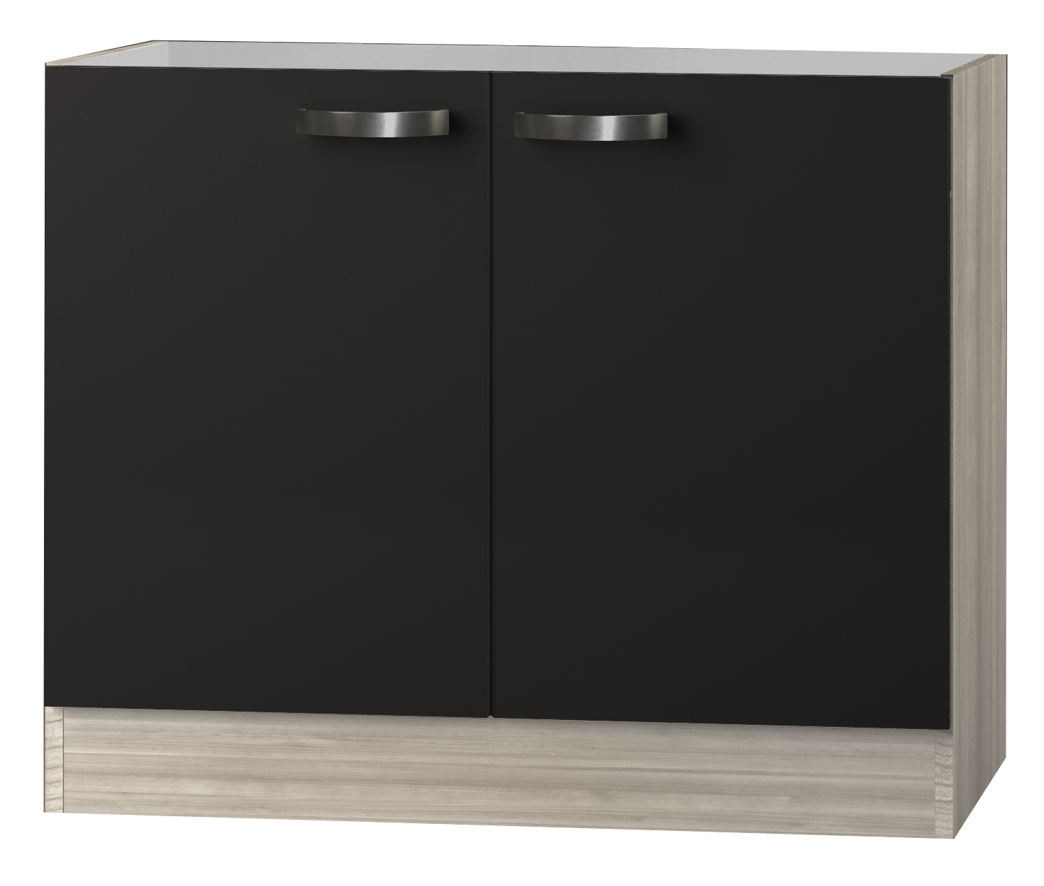 kult faro sp lenschrank 100cm breit anthrazit splo106 ebay. Black Bedroom Furniture Sets. Home Design Ideas