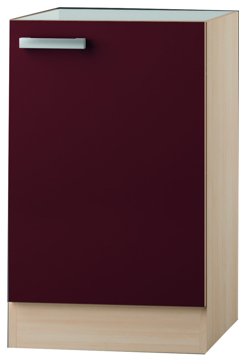 kult bergamo sp lenschrank 50 cm breit bordeaux rot splo506 ebay. Black Bedroom Furniture Sets. Home Design Ideas