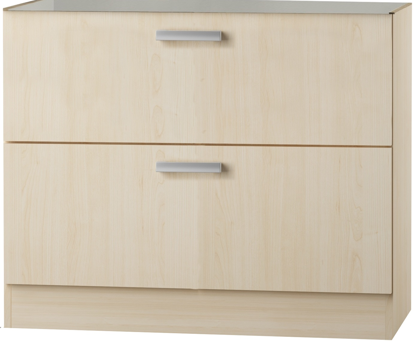 kult cordoba unterschrank 100 cm breit birke uo126 ebay. Black Bedroom Furniture Sets. Home Design Ideas