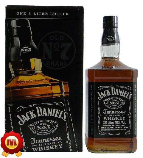 jack daniels 3 liter flasche jetzt neues karton design ebay. Black Bedroom Furniture Sets. Home Design Ideas