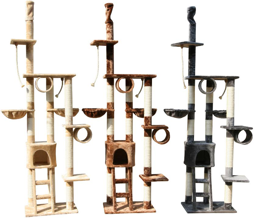 kratzbaum katzenbaum katzen baum kletterbaum xxl neu. Black Bedroom Furniture Sets. Home Design Ideas