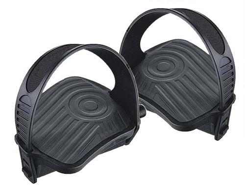 1 paar heimtrainerpedale mit riemen pedale f r heimtrainer. Black Bedroom Furniture Sets. Home Design Ideas