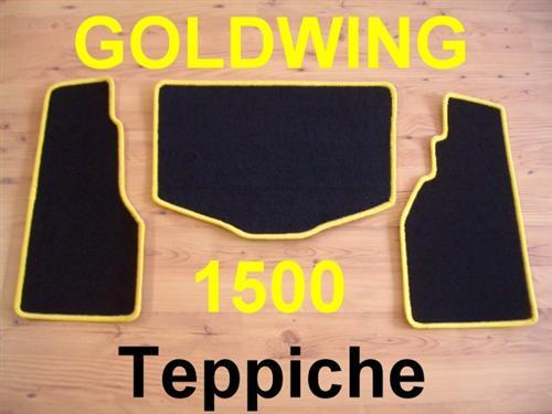 Honda Goldwing GL 1500 GL1500 Kofferteppiche Teppich Top