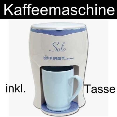 mini kaffeemaschine ein tassen kaffeemaschine mit tasse ebay. Black Bedroom Furniture Sets. Home Design Ideas
