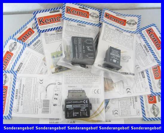 10-versch-Bausaetze-Module-Elektrisierapparat-elektr-Hundegebell-etc-B-Ware