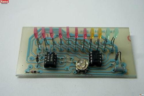 KEMO-B111-LED-Volt-oder-Amperemeter-LED-VU-METER-kit