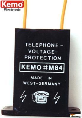 KEMO-M084-Telefon-Uberspannungsschutz-Uberspannung
